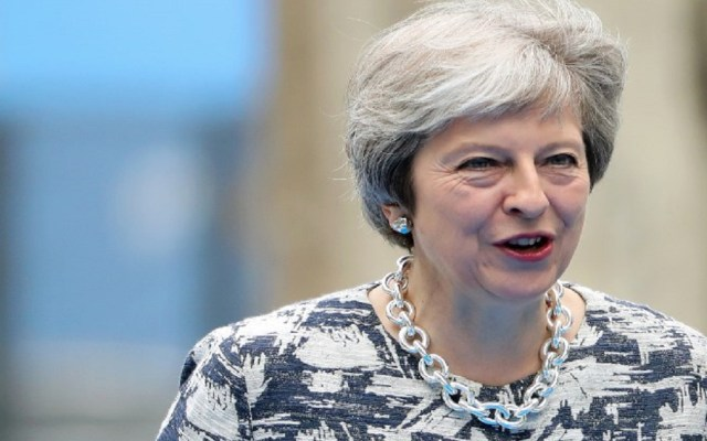 Theresa May publica plan a seguir para completar el Brexit - Foto de AFP / Tatyana Zenkovich