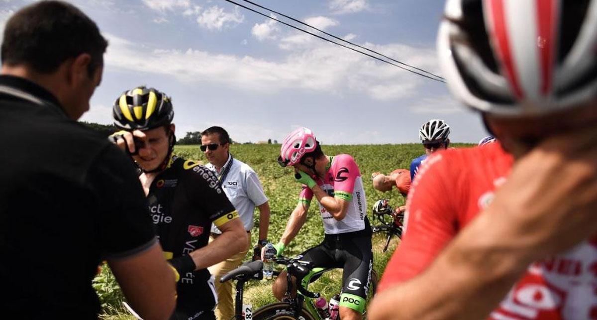 Escándalo en el Tour de Francia
