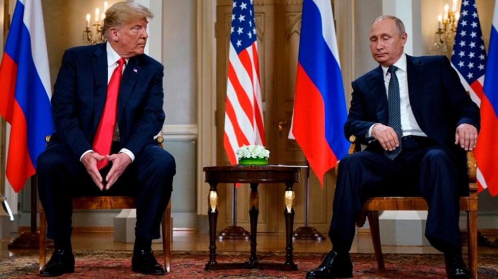 Reunión de Trump con Putin se retrasará hasta 2019 - Foto de Brendan Smialowski / AFP