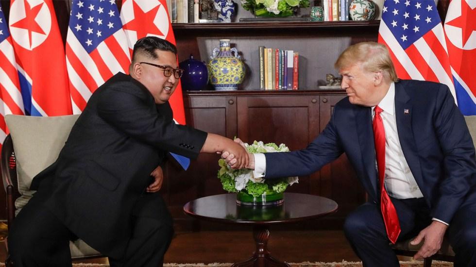 Trump confía en que Kim Jong-un cumpla acuerdo de desnuclearización