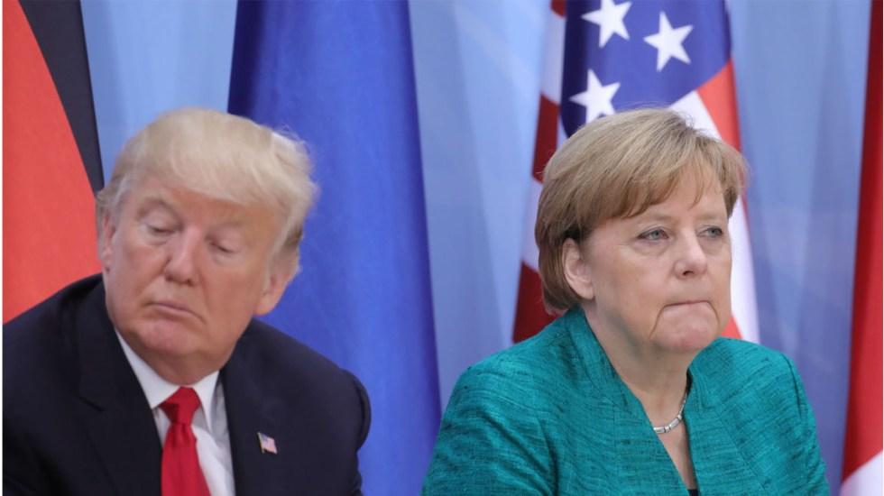 Alemania y China piden evitar guerra comercial con EE.UU.