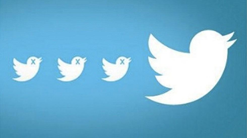 Twitter eliminará cuentas dudosas y fraudulentas
