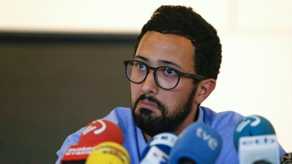 Rapero español condenado por letras terroristas reaparece en Bélgica - Foto de Aris Oikonomou / AFP