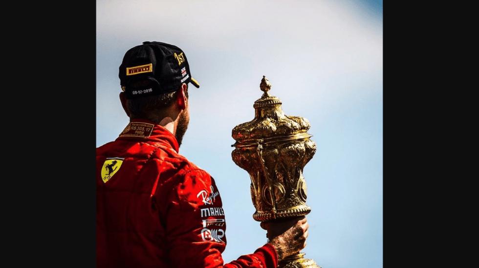 Reflejos del GP de Gran Bretaña 2018