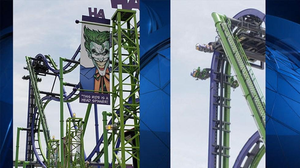 Personas se quedan atrapadas en juego de Six Flags en Texas - Foto de ABC News