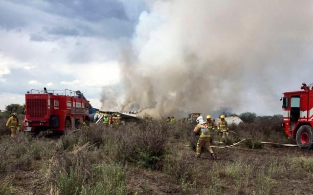 Aplaude Colegio de Pilotos Aviadores a tripulación de vuelo accidentado - Foto de @CEPCDurango