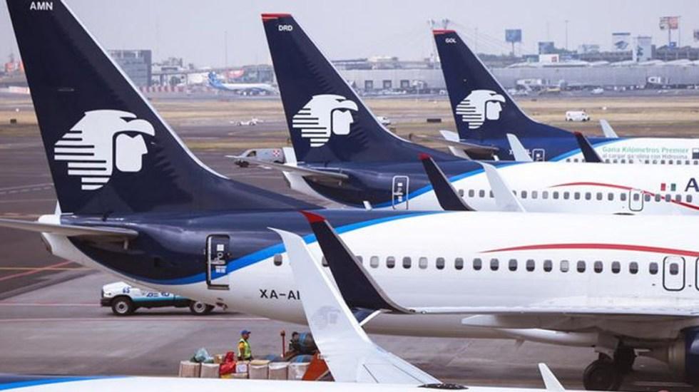 No hay vuelos cancelados de Aeroméxico: gobernador de Durango