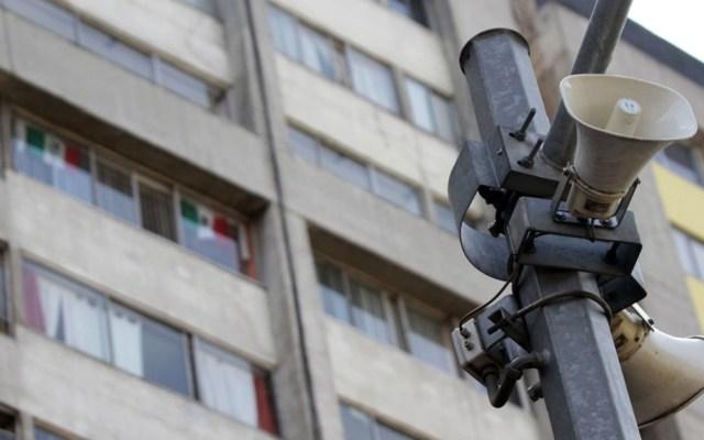 Hoy habrá prueba de sonido de altavoces en la CDMX - Altavoces de la CDMX. Foto de El Universal
