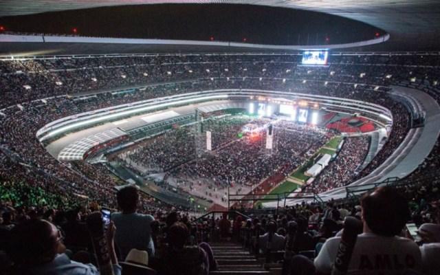 Cuesta renta del Estadio Azteca más barata a AMLO que a EPN - Foto de LopezObrador.org.mx