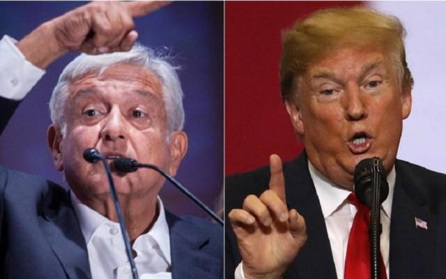 Hemos recibido un trato respetuoso de Donald Trump: López Obrador - Foto de El Financiero