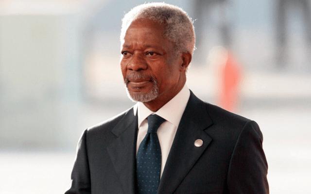 Reacciones del mundo ante la muerte de Kofi Annan - Foto de AFP