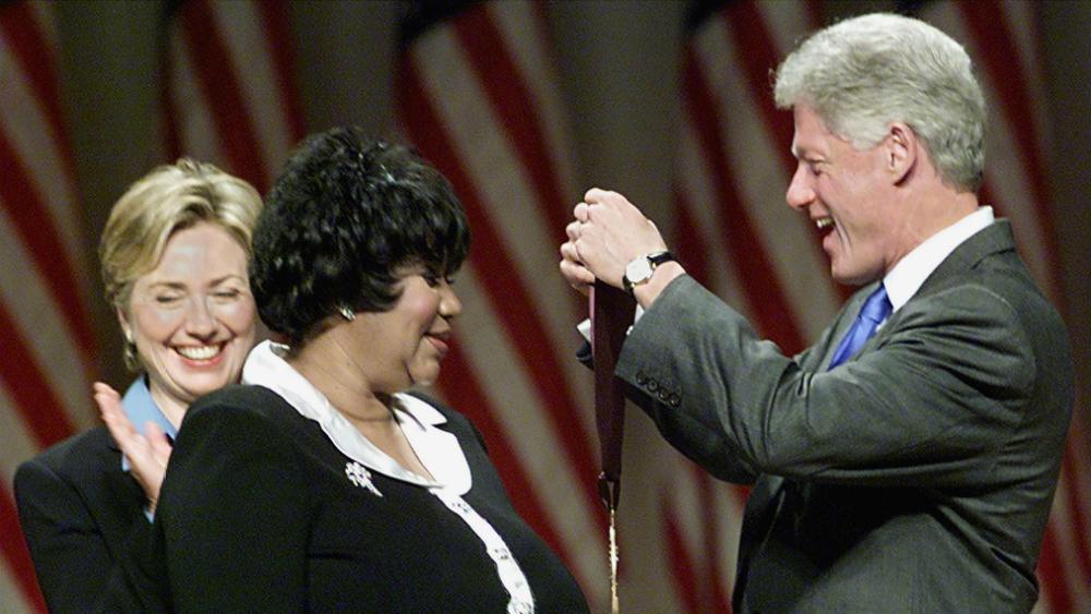 Ellos serán los oradores en el funeral de Aretha Franklin - Foto de AFP
