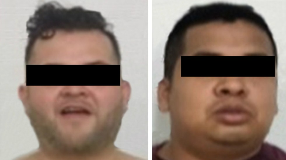 Capturan a dos hombres por robo en el Centro de la Ciudad de México - Foto de SSP CDMX