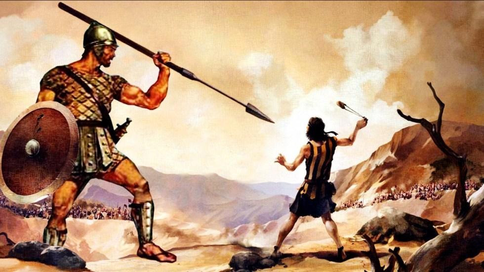 El poder de la piedra que derribó a Goliat - Foto de internet