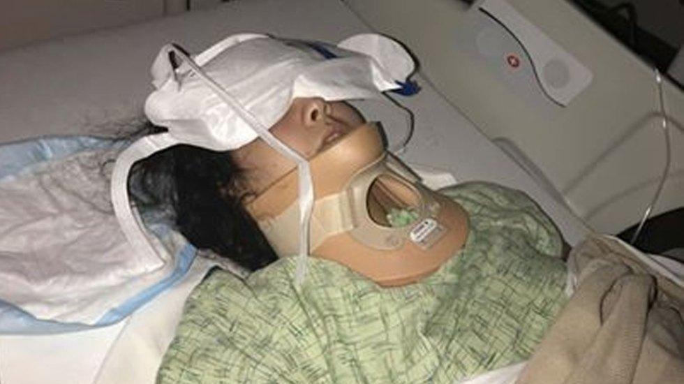 """Joven sufre derrame cerebral al intentar el """"KikiChallenge"""" - Foto de Facebook"""