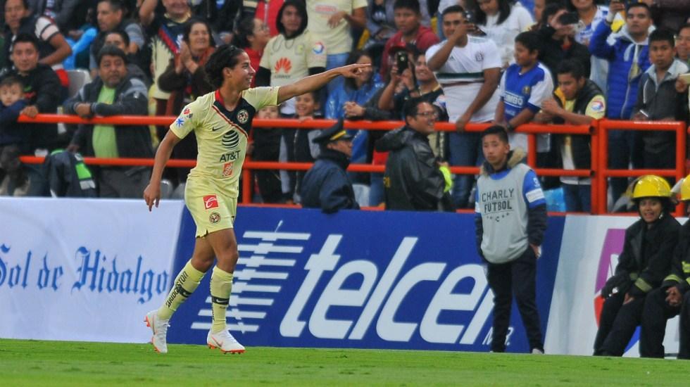 América todavía no tendrá a Diego Lainez contra Tigres - Foto de AFP