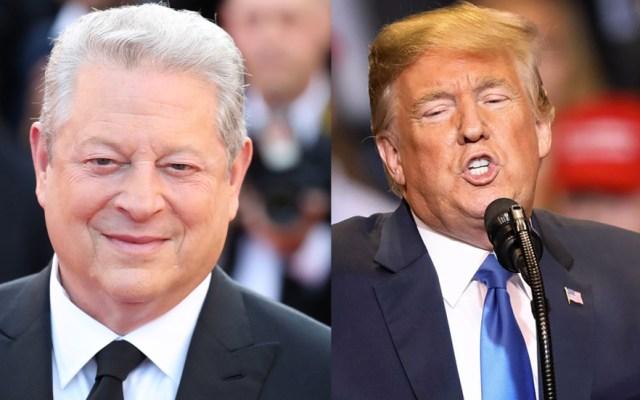 Trump ha dañado menos el ambiente de lo que temía: Al Gore - Foto de internet