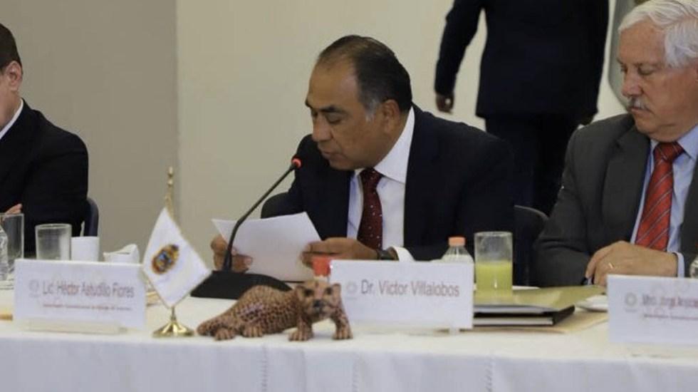 Astudillo fija postura de gobernadores priistas tras reunión con AMLO - Foto de @HectorAstudillo