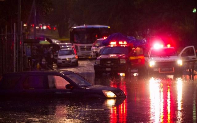 #Videos Caos en la Ciudad de México por lluvia - Foto de El Financiero