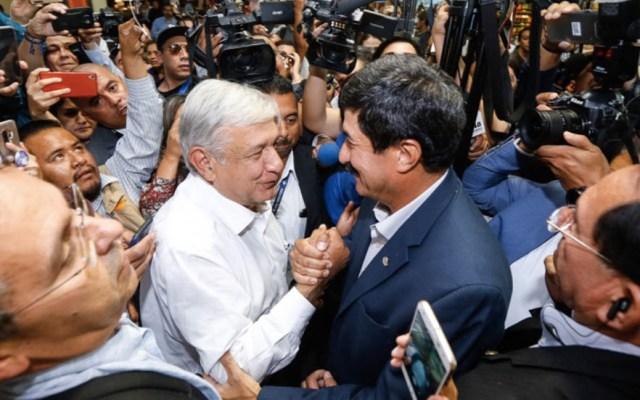 López Obrador llega a Ciudad Juárez - Foto de @Javier_Corral