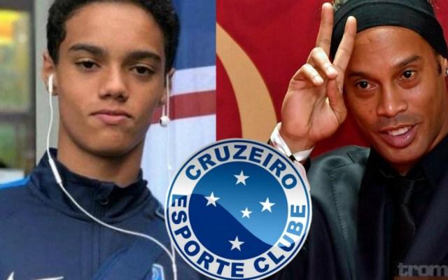 El Cruzeiro contrata al hijo de Ronaldinho - Foto de Internet