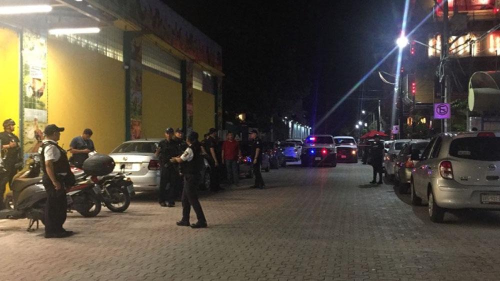 Matan a trabajador de joyería en Playa del Carmen - Foto de La Jornada Maya