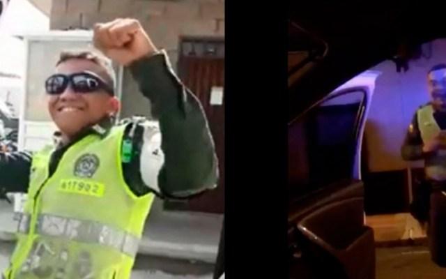 """#Video Policías colombianos realizan el """"Kiki Challenge"""""""