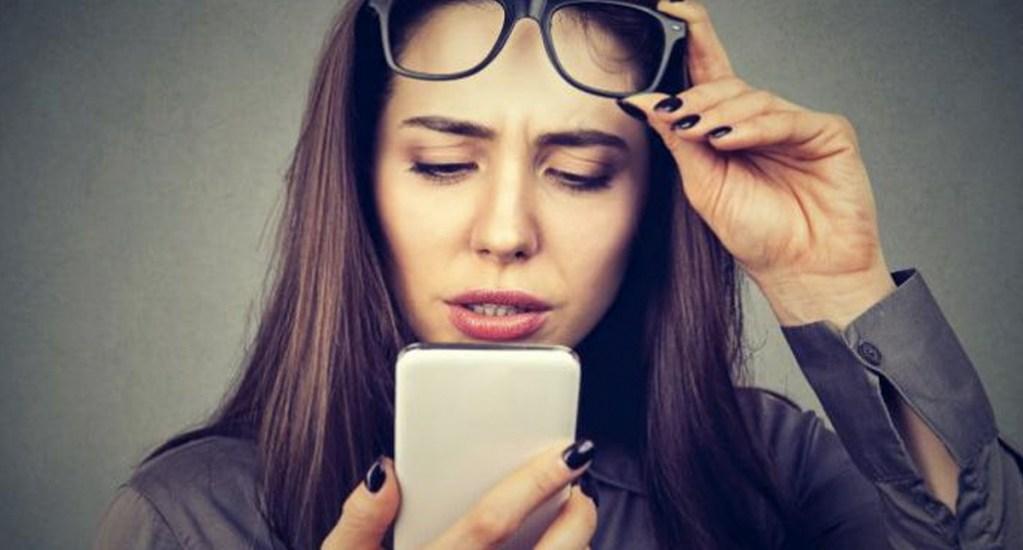 Uso de computadoras, celulares y tablets provoca miopía - Foto de internet