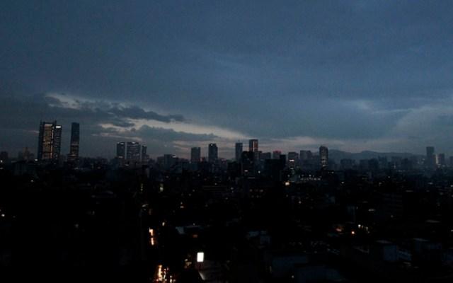 Llueve en nueve delegaciones de la Ciudad de México - Foto de Notimex