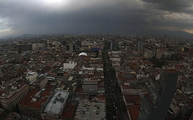 Alerta Amarilla por lluvia y granizo este sábado en la Ciudad de México - Foto de @webcamsdemexico