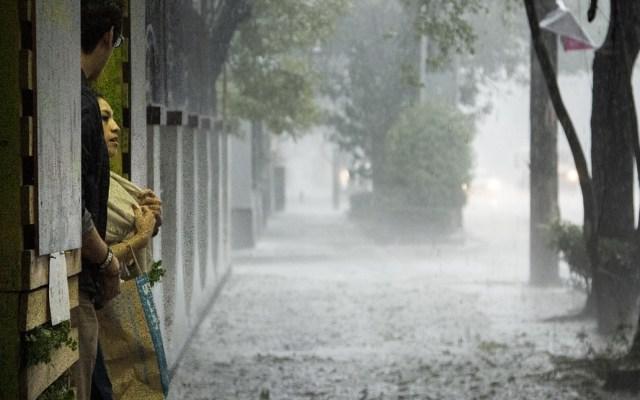 Activan Alerta Amarilla en la capital por lluvia y granizo este sábado - Foto de El Diario de México