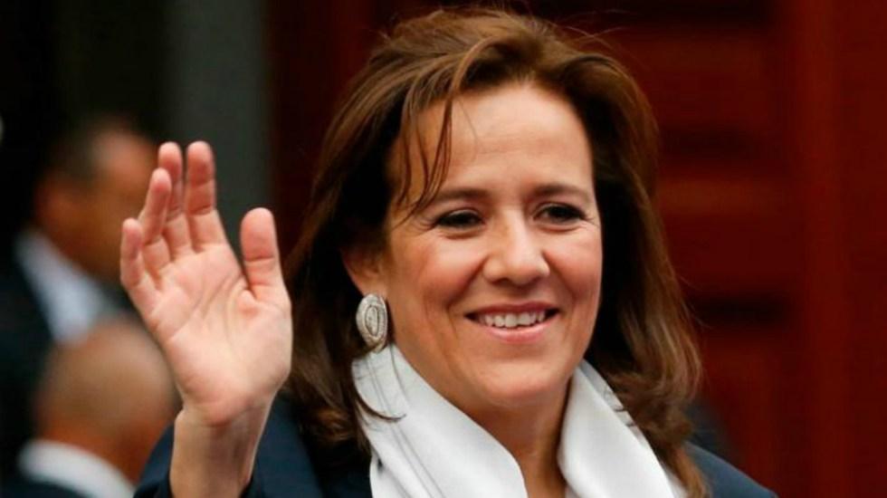 Tribunal revoca multa por más de 369 mil pesos a Margarita Zavala - Margarita Zavala