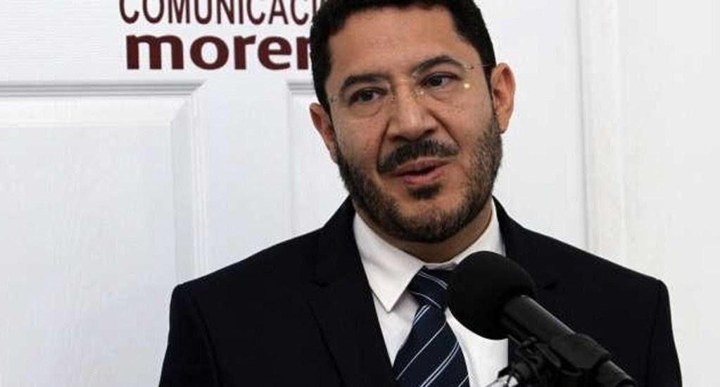 Martí Batres propone eliminar bonos y privilegios para senadores - Foto de Twitter