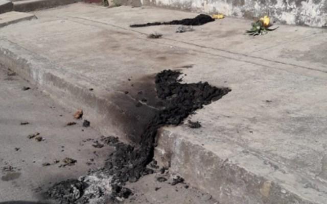Prenden fuego a indigente en Misantla, Veracruz - Foto de Twitter