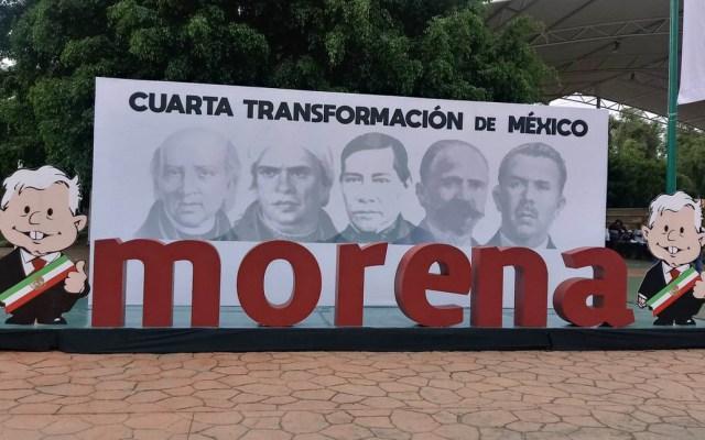 Las batallas de Morena - Foto de @PartidoMorenaMx