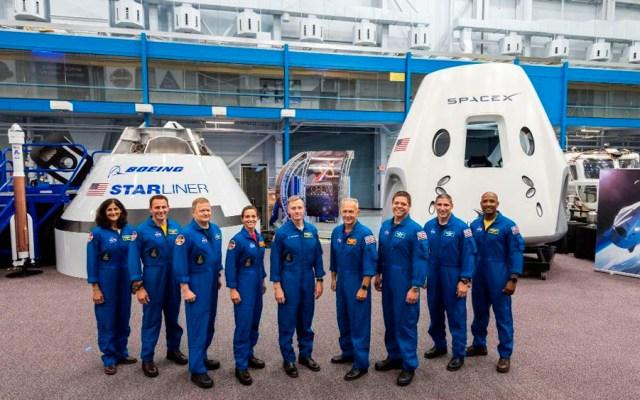 NASA presenta a astronautas para vuelos comerciales al espacio - Foto de @NASA