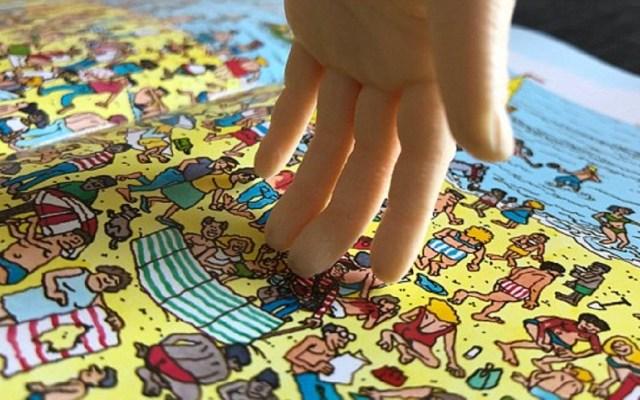 Robot encuentra a Wally en cuatro segundos - Foto de Caters New Agency