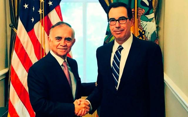 Alfonso Romo se reúne con Steven Mnuchin en Washington - Foto de @stevenmnuchin1