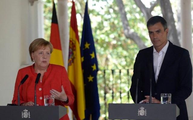 Alemania y España acordaron ayudar más a Marruecos por migrantes - Foto de CRISTINA QUICLER / AFP