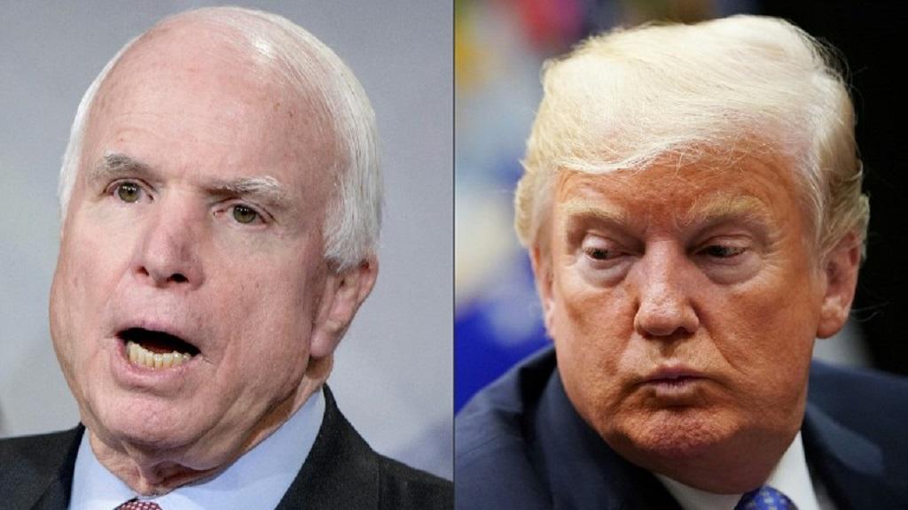 Trump no asistirá al funeral de John McCain - Foto de AFP / Brendan Smialowski / Mandel Ngan