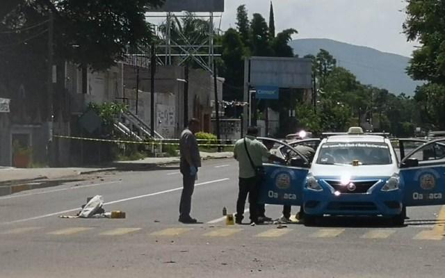 Ultiman a líder transportista en Día del Taxista en Oaxaca - Foto de @Periodismodig13