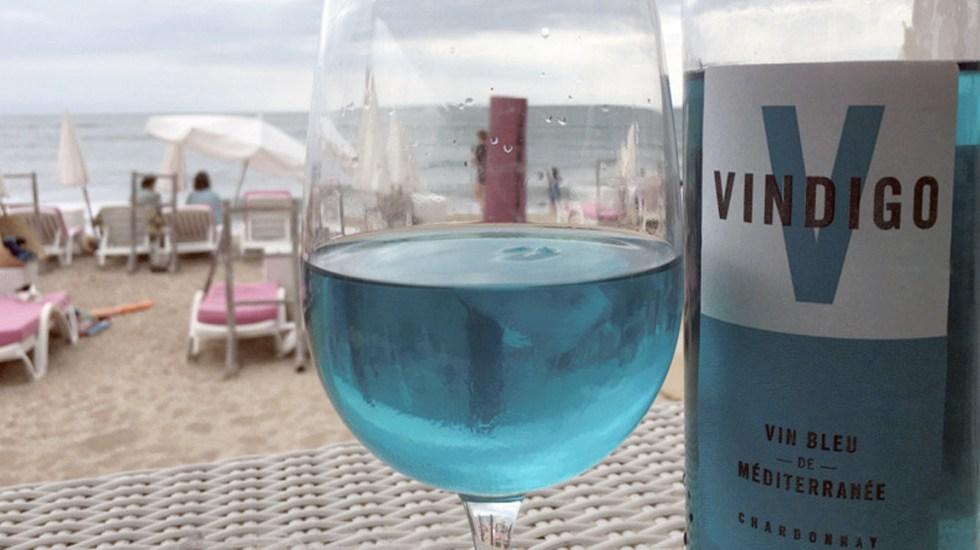 Vindigo, el vino azul que causó furor en Francia