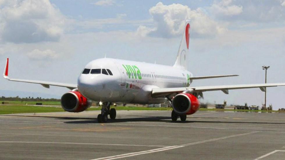 Vuelo de Viva Aerobús a Puerto Escondido regresa de emergencia al AICM - Foto de Internet