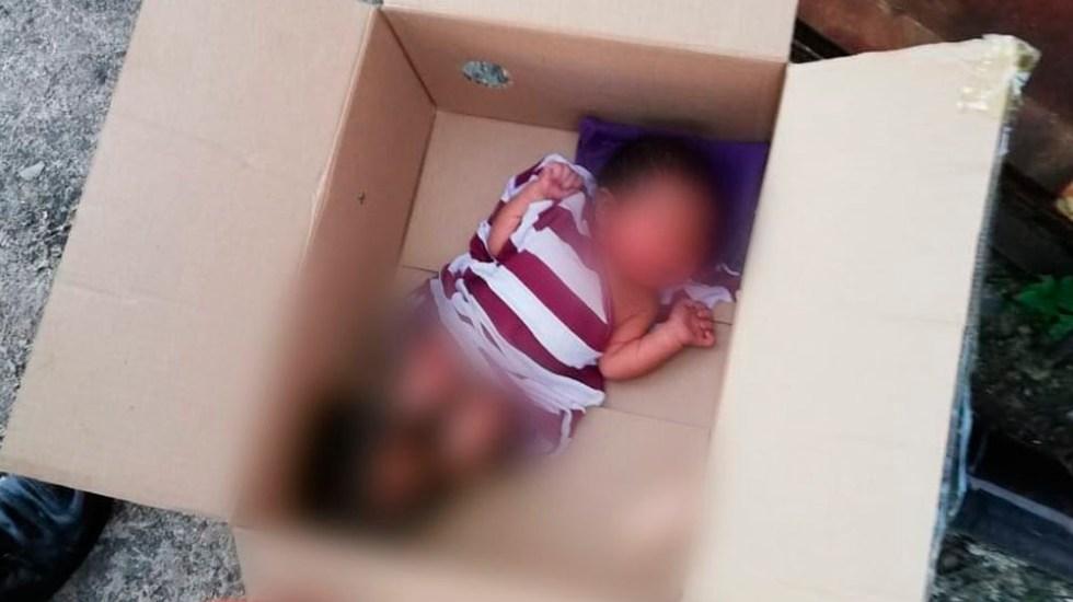 Abandonan a recién nacido en la colonia Pensil - Foto Especial