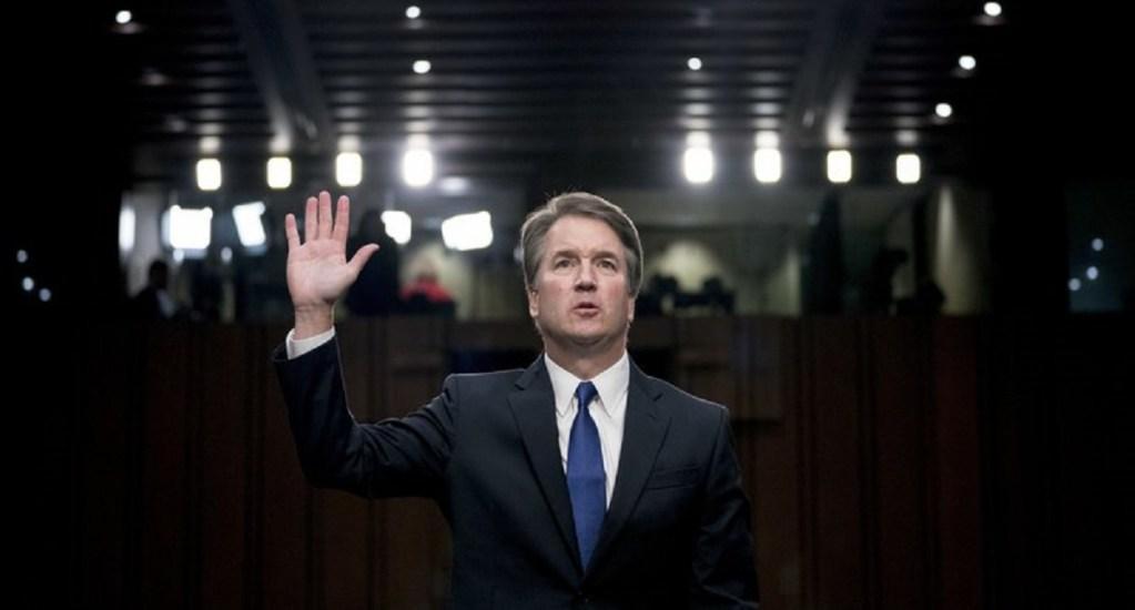Kavanaugh niega renunciar a candidatura para la Corte Suprema - Brett Kavanaugh. Foto de AP