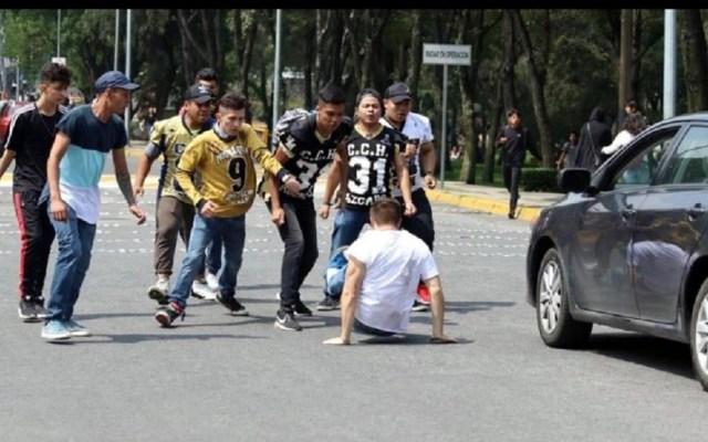Pedirá CNDH información sobre liberación de involucrados en agresiones en la UNAM - Un alumno resultó gravemente lesionado en los hechos. Foto de @CitlaHM
