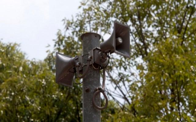Fallan este lunes otros 17 altavoces de la alerta sísmica - Foto de Notimex