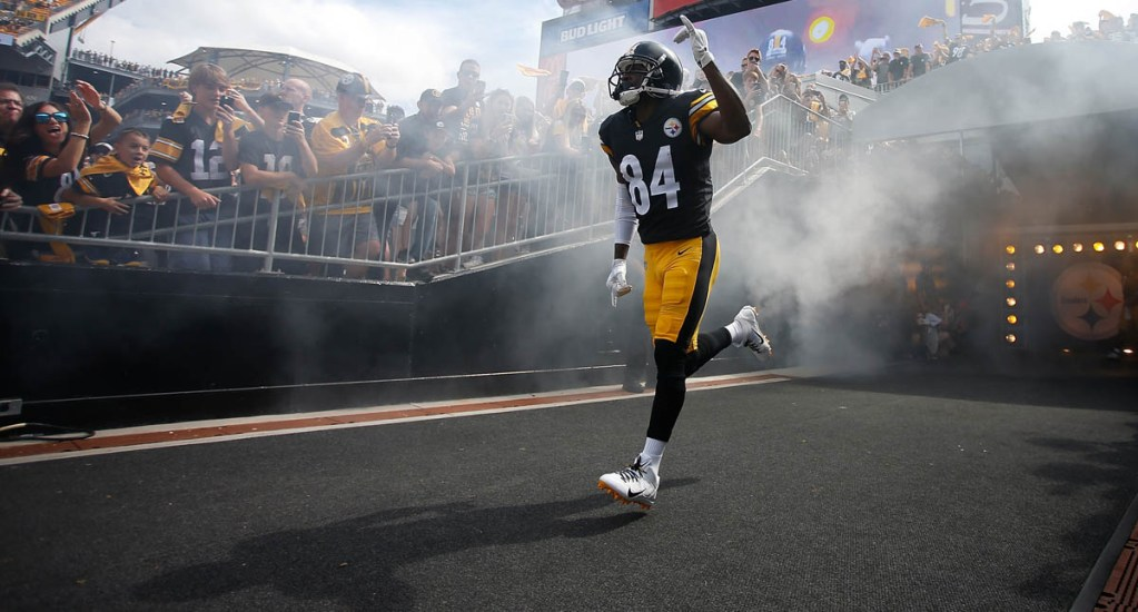 Antonio Brown se va con los Raiders de Oakland - Foto de Justin K. Aller/GETTY IMAGES NORTH AMERICA/AFP