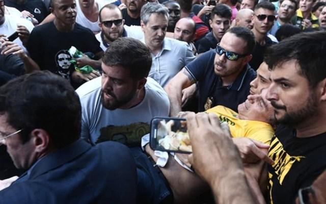 Apuñalan a candidato presidencial en Brasil - foto de internet