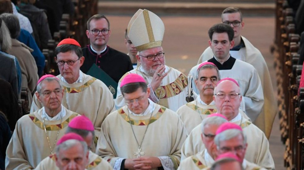 Iglesia católica alemana pide perdón a víctimas de pederastia - Foto de Arne Dedert / AFP